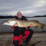 Fred (Pacific peche chateauroux) brochet 120 cm